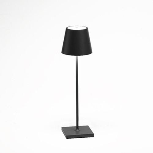Tafellamp antraciet grijs