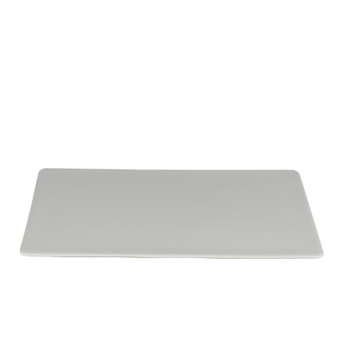 Bord strak plat, 31,5x21,5 cm.