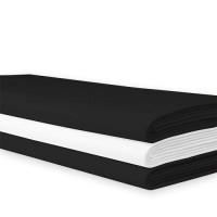 Tafellaken zwart, lxb 210x210 cm