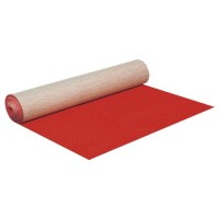 Rode loper, 2 meter breed, per lengte meter