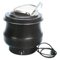 Hotpot zwart, 8 liter