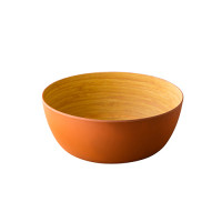 Schaal Bamboo eco oranje ø32 x 6,5 cm
