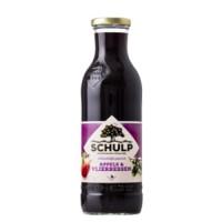 Schulp Appel & Vlierbessensap, fles 0,75 liter