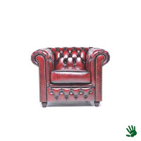 Home - Chesterfield fauteuil oxblood, 1 persoons