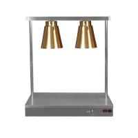 Warmtelamp 2-lamps, koper