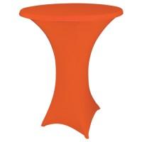 Statafelhoes strak, oranje