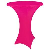Statafelhoes strak, roze
