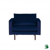 Home - Fauteuil, night blue, velvet