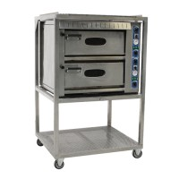 Pizza oven, 2 laags