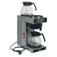 Koffiezetapparaat, met twee kannen