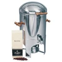 Koffieketel luxe, met messing handgrepen