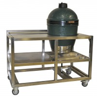 Barbecue Green Egg, incl. werktafel