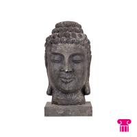 Boeddha hoofd, beton