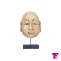 Boeddha hoofd, wit