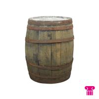 Whiskyvat, Ø 55 cm, h 88 cm.