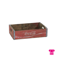 Krat hout, 7-up/coca cola